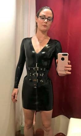 rubber fetish girl